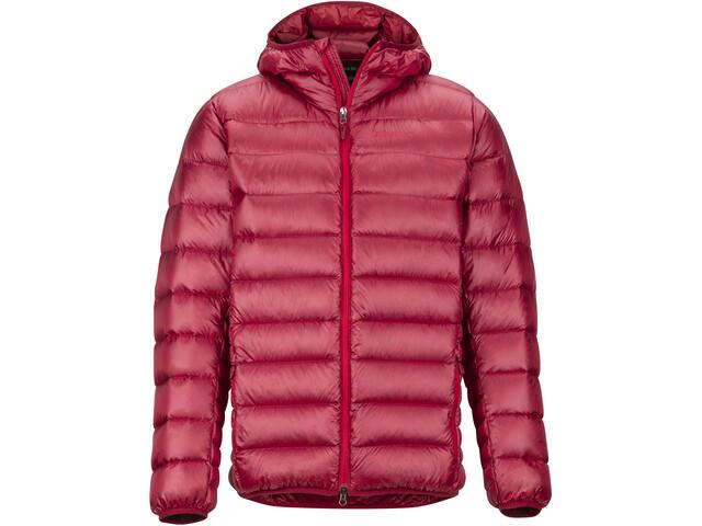 Marmot Hype Sudadera con capucha Hombre, brick